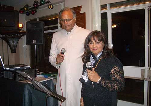 Karaoke Fun Day at the Southampton Golf Club organised by the Hindu Community of Southampton