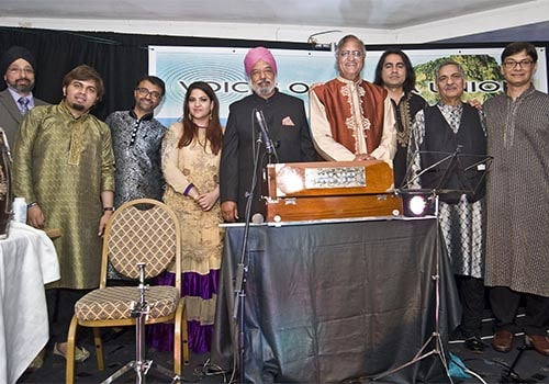 Artists who took part in Voice of Kenya show in Slough, Rahi Bains