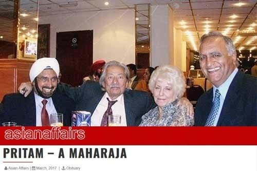 An evening with legendary broadcaster Late Pritam Singh Chaggar & Mrs & Late Mr Saeed Jaffery at Hounslow West