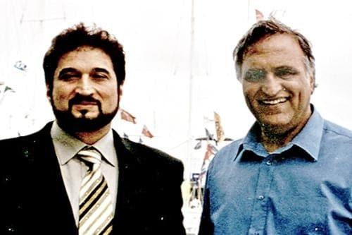 Nadeem Saifi & Rahi Bains in Southampton at Premier of film RAJA HINDUSTANI