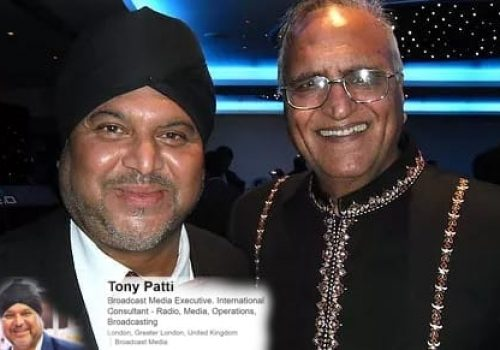 Professional DJ & Broadcaster Tony Patti with Rahi Bains-min
