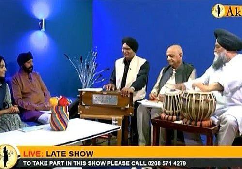 Religious-TV-singing by Rahi Bains